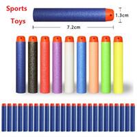 New 10000pcs Brinquedos ao ar livre série Blasters Reenchimento clipe dardos elétricos brinquedo pistola brinquedos macios bala 10color 4141-2