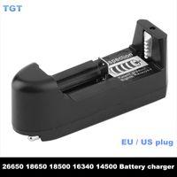 Chargeur de batterie DHL Universal 18650 pour 3.7v Li-ion rechargeable 18650 18350 18500 26650 16340 Batteries Chargeurs EU EU PLUG