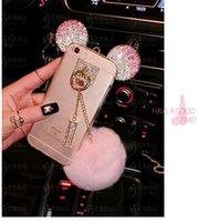 3D Hi- Q Mickey Luxury Bling Diamonds Rhinestone Soft TPU Cov...
