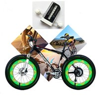 14 LED Motorcycle Cycling Bicycle Bike Wheel Signal Tire Spo...