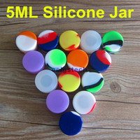 Wholesale 5mL Wax Containers Silicone jars container silicon...