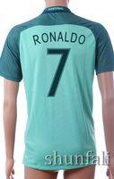 2016 European Cup Portugal National Team away 7 FIGO Soccer ...