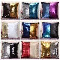 Sequin Pillow Case Sequin Pillowslip 2 Tone Color Pillow Cas...