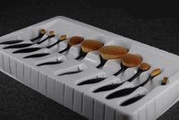 10PCS Top Quality Oval Makeup Brush 10pcs lot In the Box Bea...