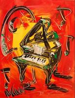 MPRESSIONIST Современные абстрактного искусства, чисто Ручная роспись Абстрактная живопись маслом на Canvas.any заказной размер принимаются buypo