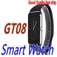 GT08 Smart Watches Bluetooth Smart Watch Phone Wristband Blu...