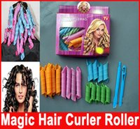 DIY MAGIC LEVERAG Magic Hair Curler Roller Magic Circle Hair...