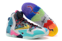New Fashion Sports Shoes Lebron 11 XI What the Lebron Basket...