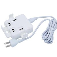 100pcs US EU plug 4 Ports USB charger Mains Wall Charger wit...