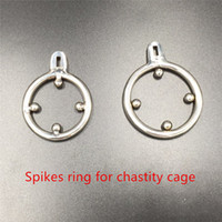 Chastity devices for men 35mm 40mm 2 optional sizes spikes a...