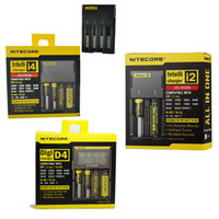 Nitecore E I4 I2 D4 Digicharger LCD Battery Charger for 1865...