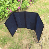 Ultra- thin flodable 100W SunPower portable solar panel 12V H...