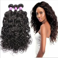 Brazilian Virgin Hair Water Wave Hair Products 3 bundles 6A ...