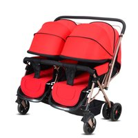 Popular Twins Folding Baby Stroller Portable Baby Carriage B...