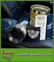 Nouveau YETI Rambler Gobelet Coupe 30 oz Bilayerdouble face Acier inoxydable Isolation Coupe Tasse à Bière Yeti Cups Cooler Véhicule