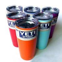 Colorful YETI CUPS 600ml 20 900ml 30 OZ beer mug travel cup ...