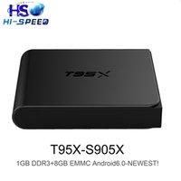 20PCS NEWEST T95X Amlogic S905X KD 16. 1 android 6. 0 tv box Q...