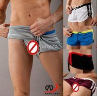 Hot Sexy Men' s Casual Shorts Household Sports Shorts wi...