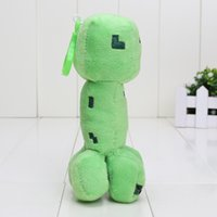 In stock 10pcs high quality Game plush Pendant Creeper keych...