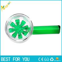 New Glass bong Glass bowl Star Screen Bowl Green 14mm 18. 8mm...