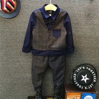 Boys Clothing Sets Child Clothes 2016 Autumn Long Sleeve T S...