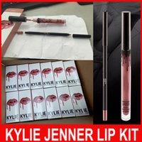 KYLIE JENNER LIP KIT Kylie Lipkit Velvetine Liquid Matte Lip...