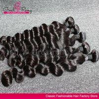 4pcs lot AAAAAAA+ Brazilian Loose Deep Wave Virgin Hair Exte...