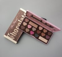 BON BONS Chocolate Bar EYESHADOW palette 16 couleurs Love Heart Eyeshadow comment Clameur Guide d'expédition DHL gratuit