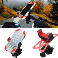 Universal 360 rotativo móvil del teléfono móvil para bicicleta clip de montaje del soporte de montaje del manillar Soporte para Smartphones GPS