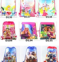 Hot Cheap avengers alliance children backpack toy bags draw ...