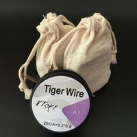 E Сигареты Tiger Провода нагревательных проводов 26GA + 0,2 * 0,8 15ft нагревательный провод для E Сигареты RDA испарителей DIY Катушки