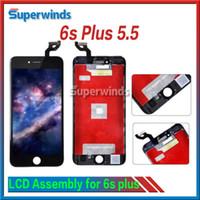 Qualité AAA qualité Iphone, 6s plus affichage à cristaux liquides Ecran tactile numériseur Full Assembly IPhone6sp 5.5