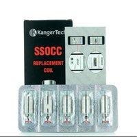 Kangertech ssocc Vertical OCC Bobinas 0.15 / 0.2 / 0.5 / 1.2 / 1.5ohm Bobina de ajuste subox topbox mini