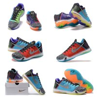 (With shoes Box) Hot Sale Kobe 10 X low SE What The WTK Mult...