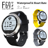 Original F69 impermeável Smart Watch Heart Rate IP68 natação inteligente Fitness Sport Hplus Smartwatch Wristband para iPhone SE 6S Galaxy S7
