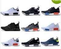 12 Color Drop Shipping Cheap Famous NMD Runner Primeknit Whi...