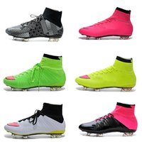 Free Shipping Cheap Mercurial Superfly FG Soccer Shoes Boots...