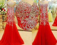 Sweetheart Luxuty Evening Dresses 2016 New Arrival Mermaid w...