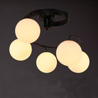 Mordern Simple LED Creative Personalized Art Ceiling Light C...