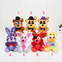 7pcs Plush pendant 14cm FNAF Five Nights At Freddy' s 4 ...