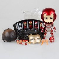 Super Hero Iron Man 3 Mark 42 Tony Stark Set Cute Nendoroid ...