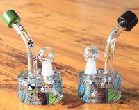 vient d'arriver dessins de conception variété de couleurs ouchkick bongs en verre les plus récentes conduites d'eau bong esquisse esquisse aléatoire conçoit barboteur en verre