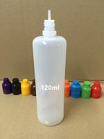 Empty 120ml PE Eye Dropper Bottle E- cig Plastic Dropper Bott...
