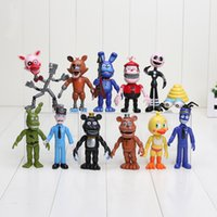 10- 11. 5cm 12pcs set PVC Five Nights At Freddy' s Action ...