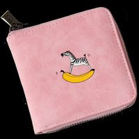 Lovely Wallet Animal Story Pattern Full of Design Made Walle...