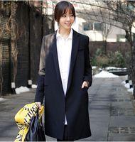 2016 Spring Fashion Casual Long Blazer Women Slim Suit Jacke...