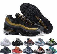 2016 New Running Shoes Max 95 Mens Retro Cushion White Max95...