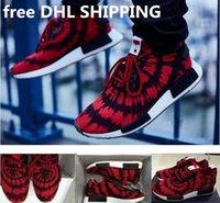 Free DHL NMD Originals Runner PK Spider Man Men Fashion Spor...