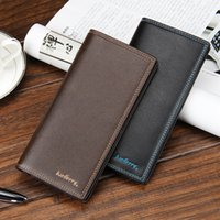 baellerry 2016 men' s casual long wallet pu leather fold...