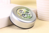 Free Shipping Round Cordless Kids Touch Lamp 3 LED Battery P...